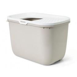 Lettiera Gatto HOP IN Bianco-Antracite