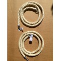 Corda in Sisal da Gabbia 18 mm per Piccoli Pappagalli