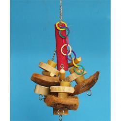 Tronky Tree - Gioco Pendaglio con Limaunghie Cocco e Java