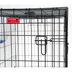 Kennel LukyDog metallo ripiegabile Extra Small
