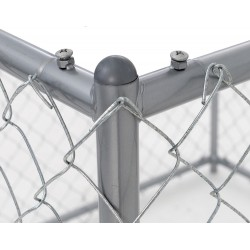 Recinto Metallico a Maglia Luckydog Chain Link Outdoor
