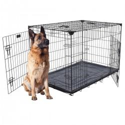 Kennel LuckyDog in metallo ripiegabile Giant per grandi Cani