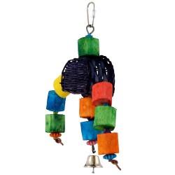 Gioco Duck Grab Toy Legno e Sisal