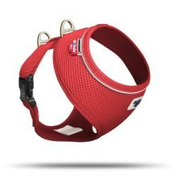 Pettorina Basic Cane Air-Mesh Rosso