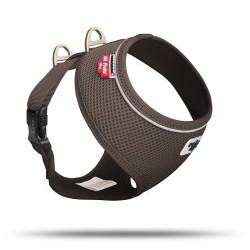 Pettorina Basic Cane Air-Mesh Marrone