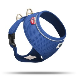 Pettorina Basic Cane Air-Mesh Blu