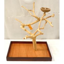Trespolo legno per Pappagallo M 5015