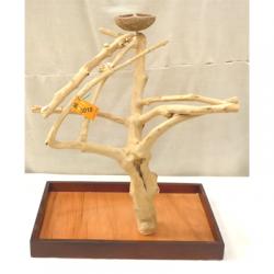 Trespolo legno per Pappagallo M 5018