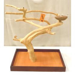 Trespolo legno per Pappagallo M 5019