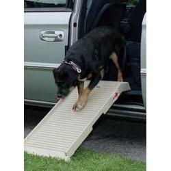 DogStep, mezza rampa ripiegabile Suv Barca Caravan