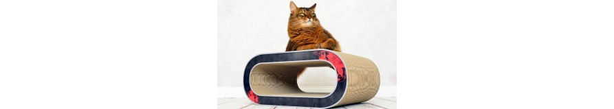 Tiragraffi per Gatti in Cartone Ondulato Cat-On