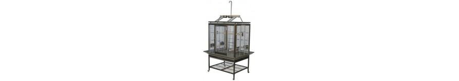 Gabbie per pappagalli in alluminio