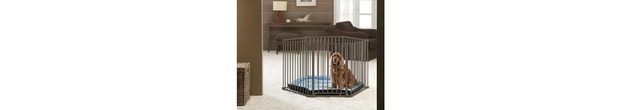 Recinti per cani da interno ed esterno animalmania for Cancelletti per cani da esterno