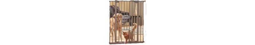 Cancelletti per cani da interno e da esterno animalmania for Divisori da esterno