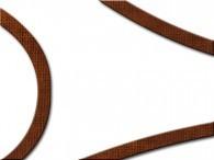 002G - Bordo marrone su bianco
