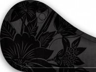 013B - Fiore Asia nero su nero