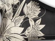 015  - Fiore Asia in argento su nero