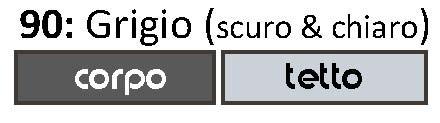 GRIGIO (CHIARO & SCURO)